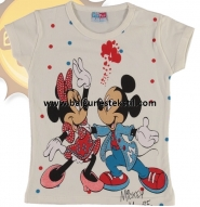 MİCKEY MOUSE BASKILI KIZ TSHIRT