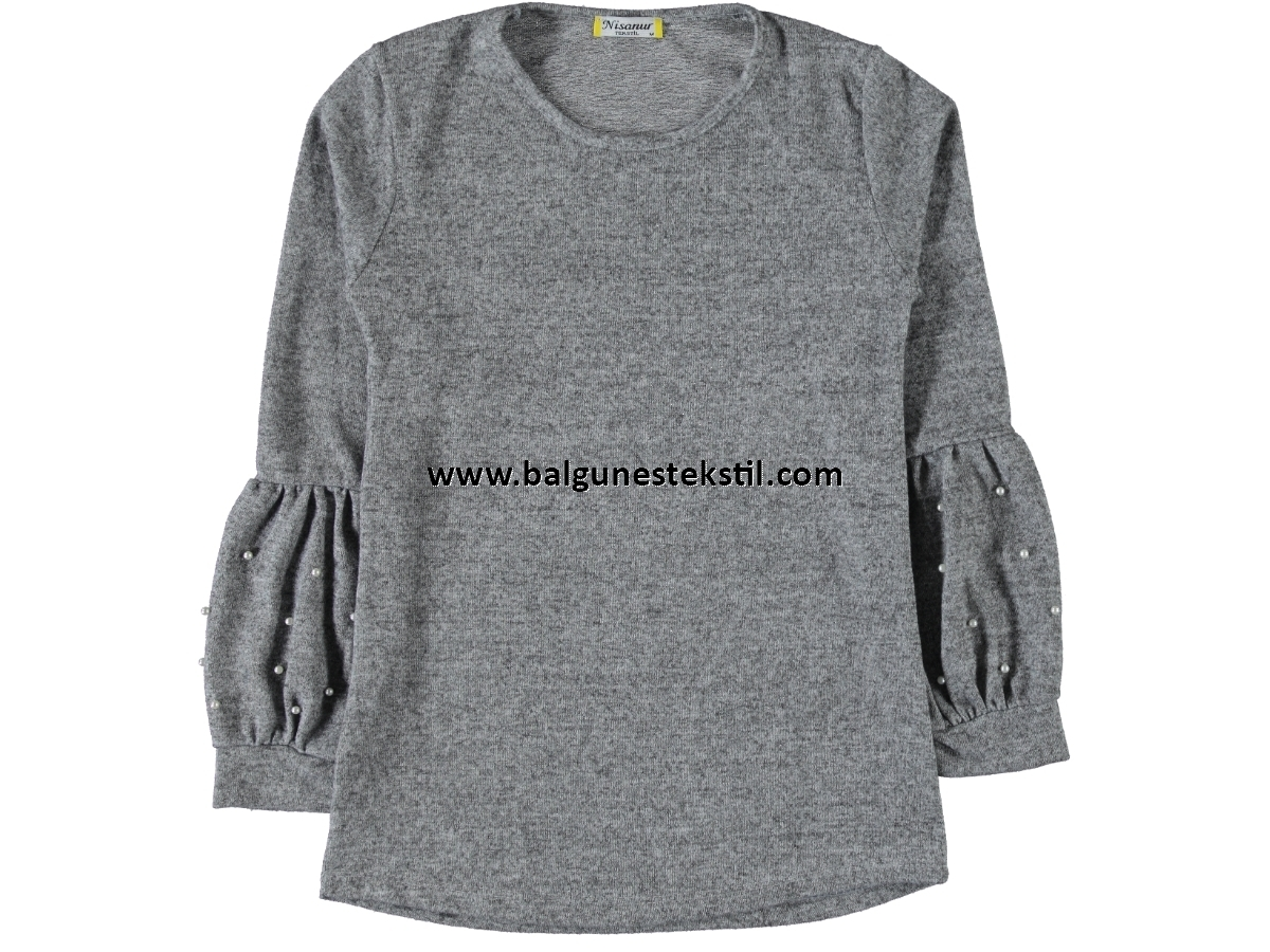 BAYAN İNCİLİ YUMOŞ SWEAT M,L,XL