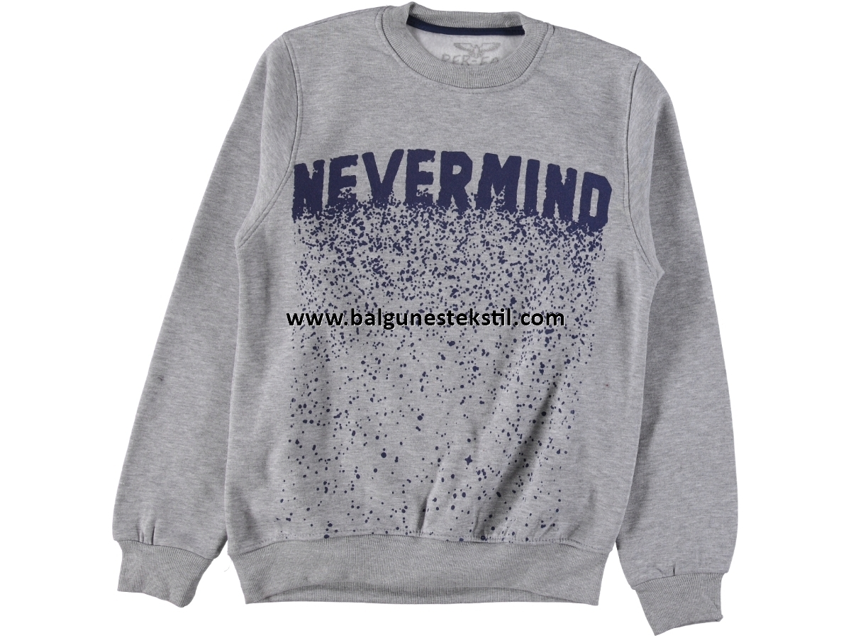 ERKEK EVERMIND BASKILI ÜÇ İP SWEAT S,M,L,XL