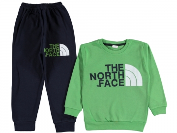THE NORTH FACE BASKILI ERKEK PİJAMA TAKIM 7/9 YAŞ  - 7 Yaş,8 Yaş,9 Yaş Yaş
