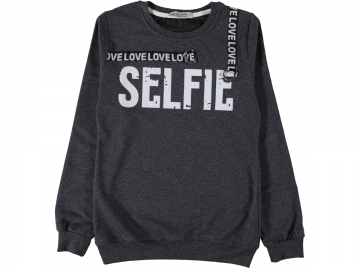SELFİE SWEAT S/XL  - S,M,L,XL Yaş